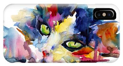 Watercolor Pet Portraits Phone Cases