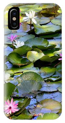 Colorful Water Lily Pond IPhone Case