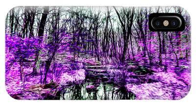 Creek By Purple IPhone Case
