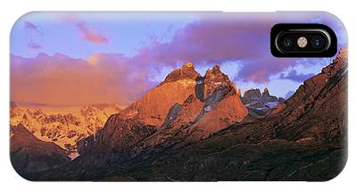 Cumbres, Torres And Cuernos Del Paine Phone Case by Martin Zwick