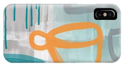 Orange Flower Phone Cases