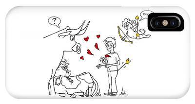 Cupid Valentines IPhone Case