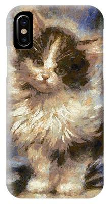 Cute Kitty IPhone Case