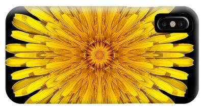 Dandelion Flower Mandala IPhone Case