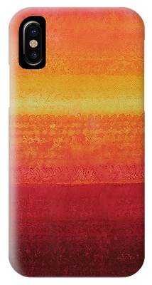 Desert Horizon Original Painting IPhone Case