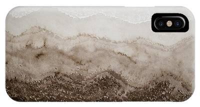 Desert Mountain Mist Original Painting IPhone Case