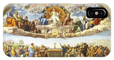 Disputation Of Holy Sacrament. IPhone Case
