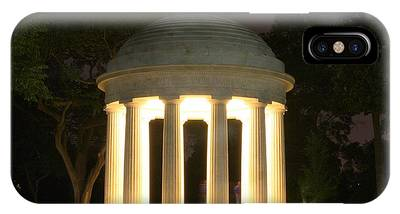 District Of Columbia World War I Memorial At Night IPhone Case