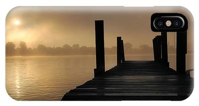 Dockside And A Good Morning IPhone Case