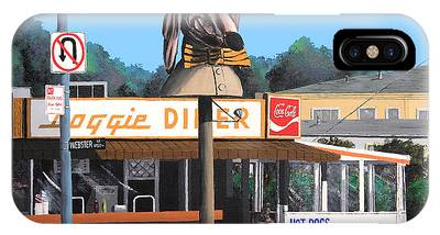 Doggie Diner 1986 IPhone Case