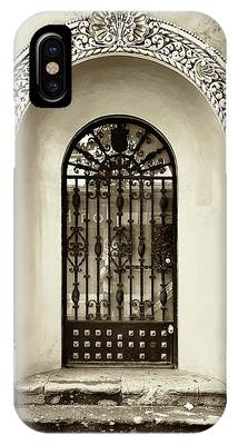 Door With Decorated Arch IPhone Case