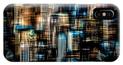 Downtown II - Dark IPhone Case