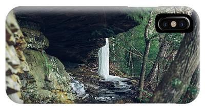 Eaglefalls Trail In Winter IPhone Case
