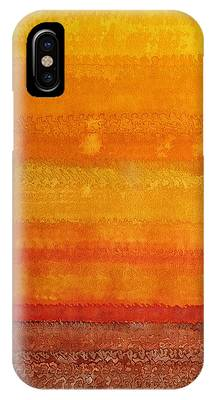 Earth And Sky Original Painting IPhone Case