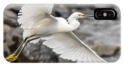 Egret Flight IPhone Case