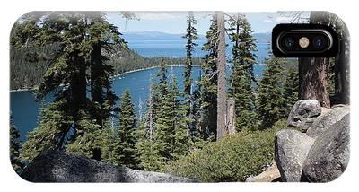 Emerald Bay Vista IPhone Case