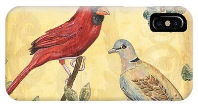 Red Bird Phone Cases