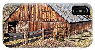 Fall Range Barn IPhone Case