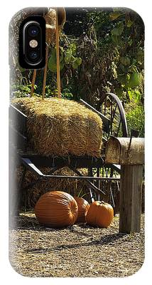 IPhone Case featuring the photograph Fall Season Items On Display by Richard J Thompson