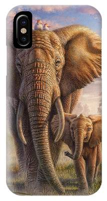 Relationship Mixed Media iPhone Cases
