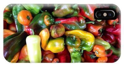 Farmers Market Peppers IPhone Case