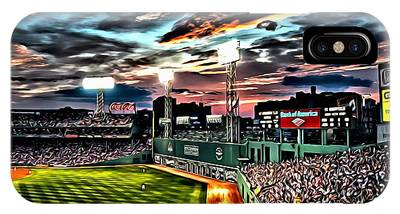 Fenway Park At Sunset IPhone Case