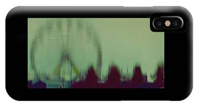 IPhone Case featuring the photograph Ferris Wheel Reflection by Patricia Strand