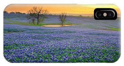 Texas Bluebonnet Phone Cases