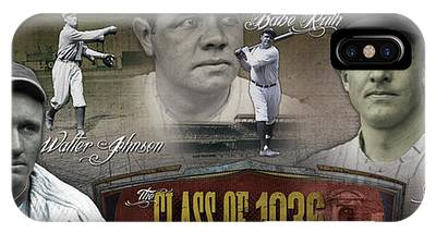 Babe Ruth Phone Cases