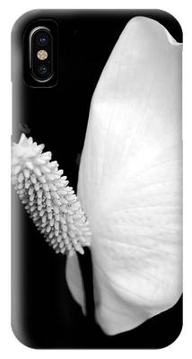 White Lily Flower Phone Cases