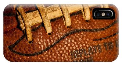 Football Laces IPhone Case