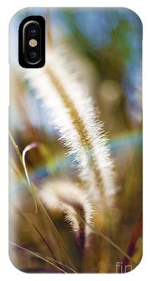 IPhone Case featuring the photograph Fountain Grass by Richard J Thompson