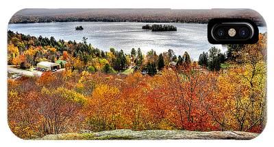 Fourth Lake From Above IPhone Case