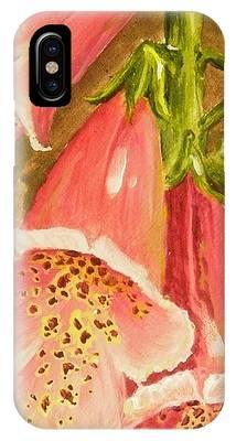 Foxy Foxglove Of Williamsburg IPhone Case
