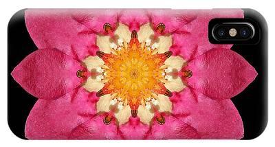 Fragaria Flower Mandala IPhone Case