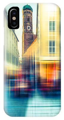 Frauenkirche - Munich V - Vintage IPhone Case