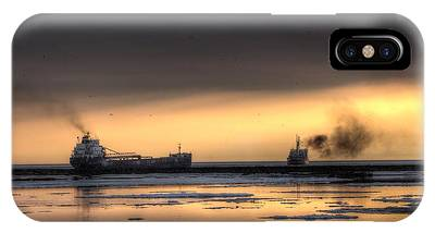 Freighter And The Cutter IPhone Case