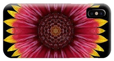 Galliardia Arizona Sun Flower Mandala IPhone Case