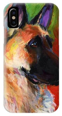 German Shepherd IPhone X Cases
