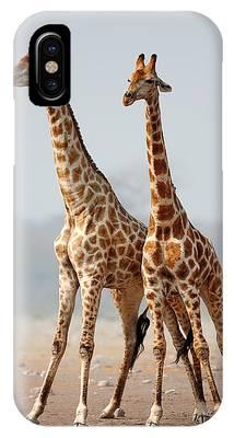 Giraffes Phone Cases