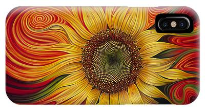 Bright Flowers Phone Cases