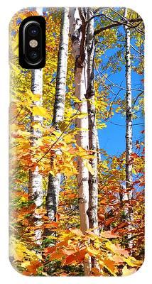 Gold Autumn IPhone Case