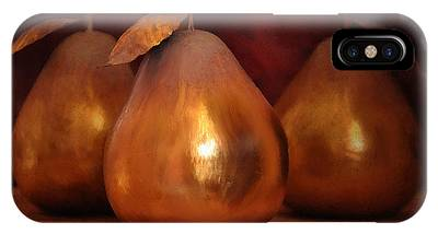 Golden Pears I IPhone Case