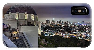 Gotham Griffith Observatory IPhone Case