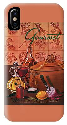 Gourmet Cover Featuring A Casserole Pot IPhone Case