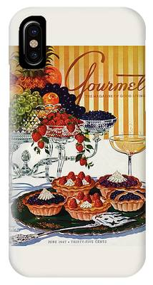 Gourmet Cover Of Fruit Tarts IPhone Case