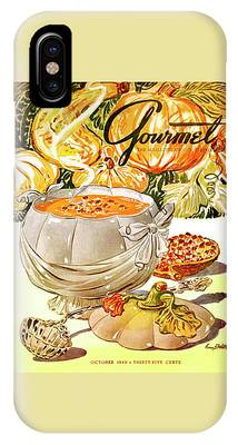 Gourmet Cover Of Pumpkin Soup IPhone Case