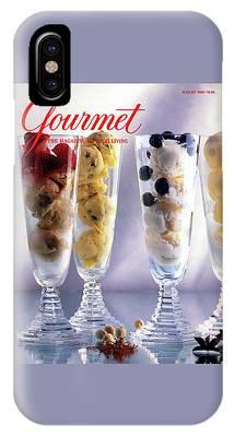 Gourmet Magazine Cover Featuring Ice Cream IPhone Case