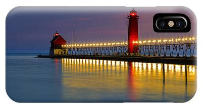Grand Haven South Pier Lighthouse IPhone Case