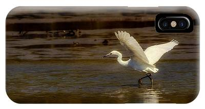 Great Egret Taking Off IPhone Case